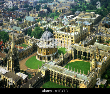 GB - OXFORDSHIRE: Oxford seen from the air - Stock Photo