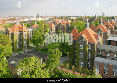 clinical centre Westend, Germany, Charlottenburg, Berlin - Stock Photo