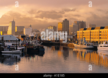Victoria & Alfred Waterfront, Cape Town, South Africa - Stock Photo