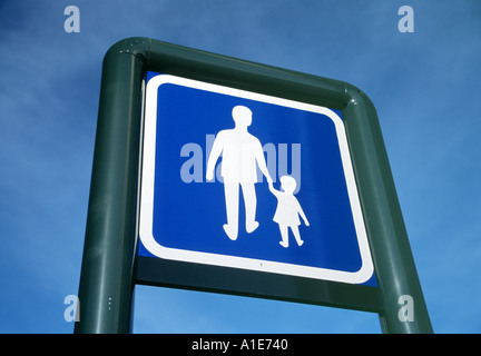 PEDESTRIAN ZONE - Stock Photo