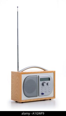Unbranded digital radio - Stock Photo