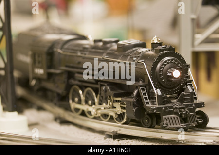 Toy train by Lionel - Stock Photo