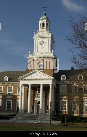 Gilman Hall Johns Hopkins University Baltimore Maryland - Stock Photo