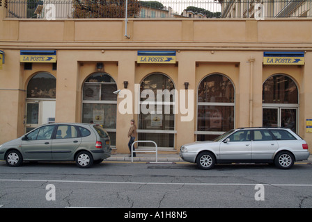 la poste french post office building france europe stock photo royalty free image 35733111. Black Bedroom Furniture Sets. Home Design Ideas