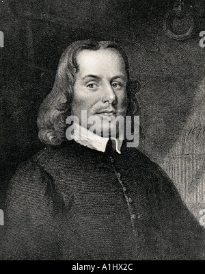 John Bunyan, 1628 - 1688.  English author of The Pilgrim's Progress, and Puritan preacher. - Stock Photo