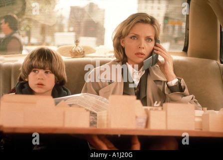 One Fine Day Year 1996 Director Michael Hoffman Michelle Pfeiffer Alex D Linz - Stock Photo