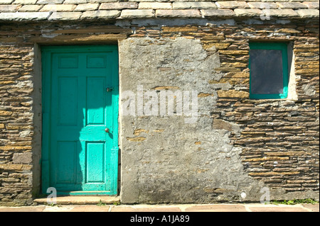 A tiny fisherman cottage in Stromness on Mainland Orkney in Scotland UK - Stock Photo