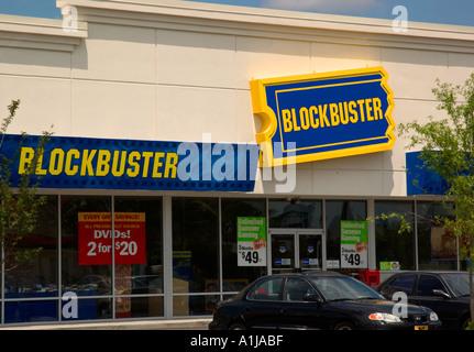 blockbuster movie rental store stock photo royalty free