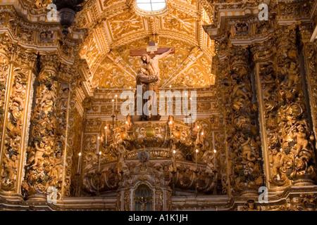 São Francisco Church interior Salvador da Bahia Brazil - Stock Photo