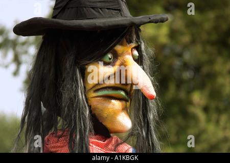 Halloween in the Europapark Rust, Baden-Wuerttemberg, Germany - Stock Photo