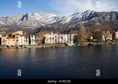 Lecco - Pescarenico, Italy - Stock Photo