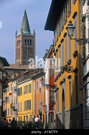 Camanile, Parma, Emilia-Romagna, Italy - Stock Photo