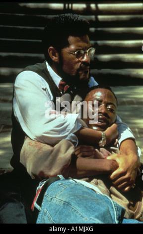 Higher Learning Year 1995 Director John Singleton Laurence Fishburne - Stock Photo