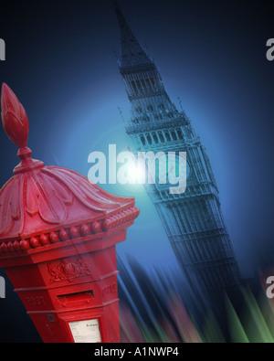 GB - LONDON: Big Ben - Stock Photo