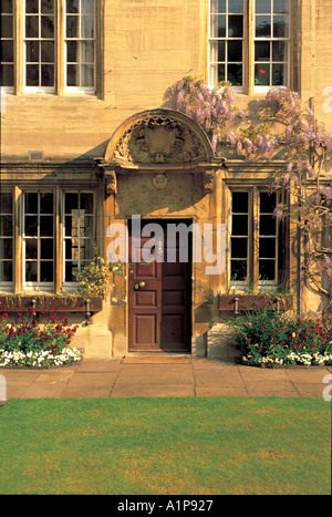 The Principals Lodgings Jesus College Oxford - Stock Photo