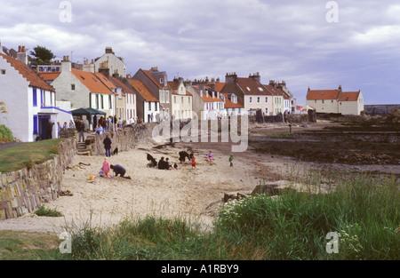 The west shore of Pittenweem, East Neuk of Fife, Scotland, UK - Stock Photo