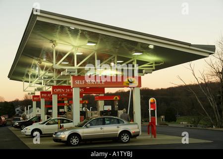 AJD55304, Gap, PA, Pennsylvania, Pennsylvania Dutch Country, Wawa Convenience Store, market, gas station - Stock Photo
