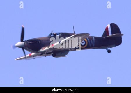 Hawker Hurricane IIC in RAF markings. - Stock Photo