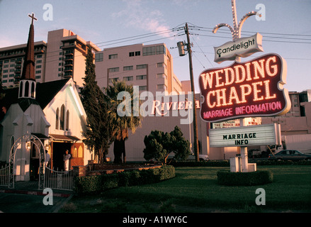 WEDDING CHAPEL THE STRIP LAS VEGAS USA