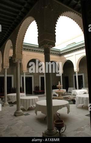 ... The Patio, Center Of The Traditional Tunisian Rich House, Dar Cherait  Museum In Tozeur