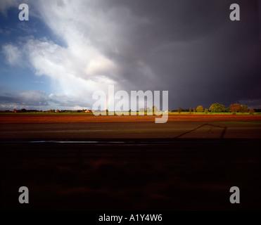 'Transit', countryside, Belgium. - Stock Photo