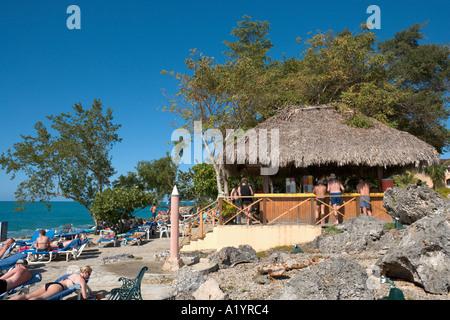 Beach Bar, Casa Marina Reef Hotel, Sosua, Puerto Plata, North Coast, Dominican Republic
