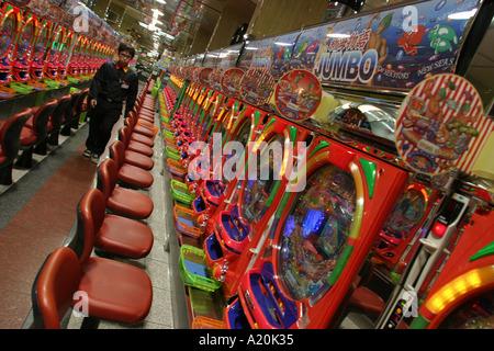 gaming in a machine