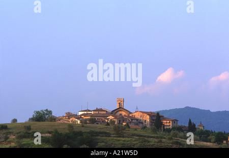 Radda in Chianti Tuscany - Stock Photo
