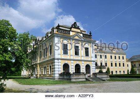 Baroque Castle Lysa nad Labem - Stock Photo