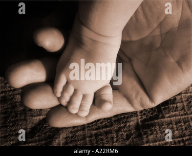 Little Toes - Stock Photo
