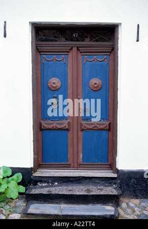 Door Aeroskobing, Denmark - Stock Photo