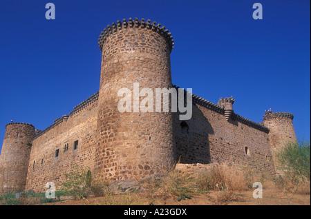 The castle, Barco de Avila, Avila, Spain - Stock Photo