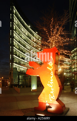 Berlin Bear Symbol Of The Berlinale Germany Berlin Stock Photo