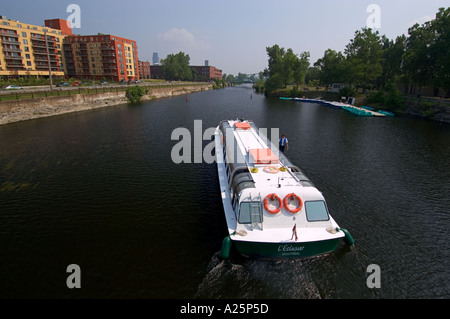 Lachine Canal, Montreal, Quebec, Canada - Stock Photo