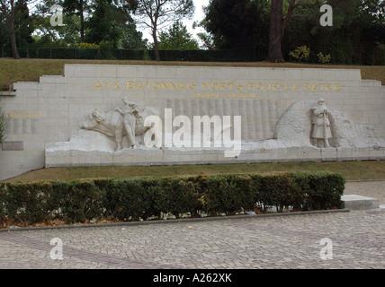 War Memorial Monument Bayonne Aquitaine Southwest France Atlantic Pyrenees department  Pyrénées Atlantiques département - Stock Photo