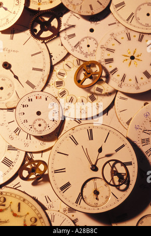 Watch faces - Stock Photo