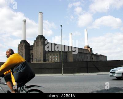 Battersea Power Station, Nine Elms Lane, London, England, UK. - Stock Photo