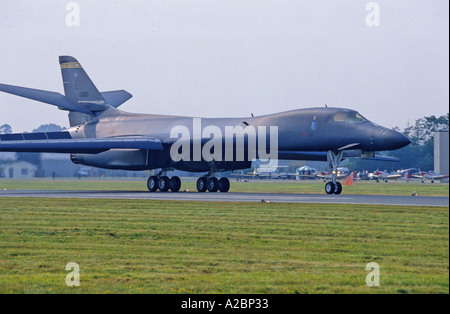 US Air Force Rockwell B-1B Lancer bomber - Stock Photo