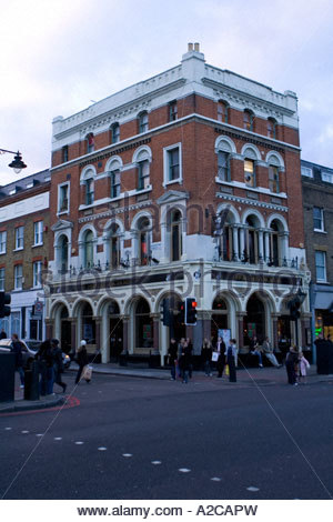the hope and anchor pub and music venue on upper street islington london - Stock Photo