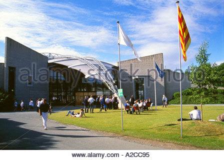 Royal International Pavilion, International Musical Eisteddfod, Llangollen, Denbighshire, Wales - Stock Photo