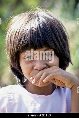 Local Girl Campeche State Mexico - Stock Photo
