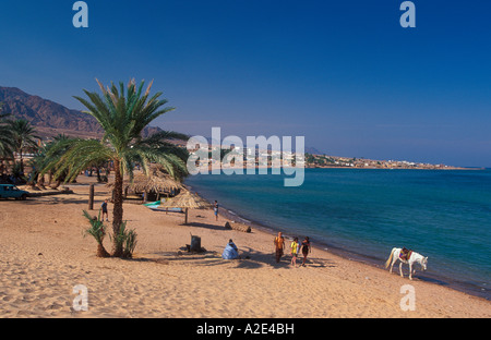 Beach Nuweiba Egypt - Stock Photo