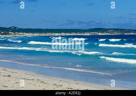 Beautiful Vivonne Bay on the south coast of Kangaroo Island in South Australia - Stock Photo