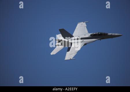 F/A-18F Super Hornet, RIAT, England, UK - Stock Photo