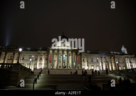 The National Gallery in London UK - Stock Photo