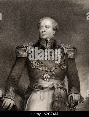 Sir Archibald Campbell, 1st Baronet, 1769 -1843. Scottish officer in the British army and administrator of the colony - Stock Photo