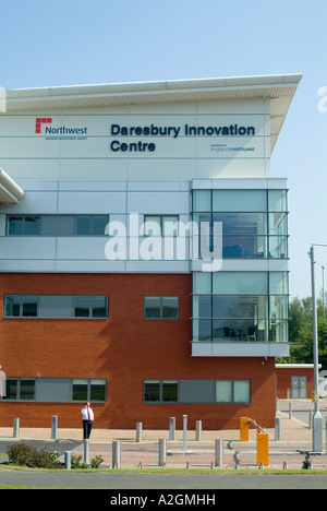 Daresbury Innovation centre is situated on the Daresbury Science and Technical Business park near Warrington - Stock Photo