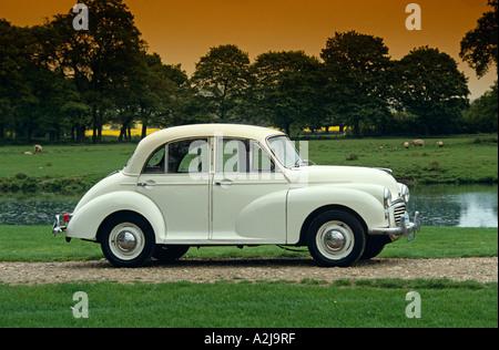 Morris Minor 1000  4 Door Saloon of 1959. Model years 1956 to 1971 - Stock Photo