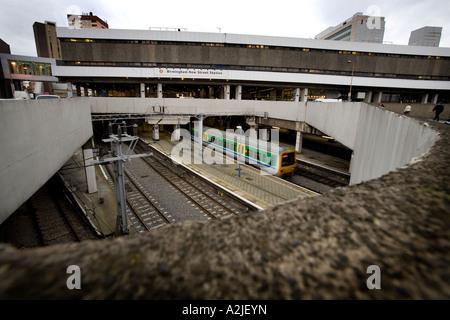 New Street Railway Station Birmingham West Midlands - Stock Photo