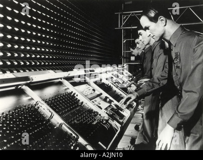 KRAFTWERK 1980 s experimental electronic pop music group formed in Germany - Stock Photo